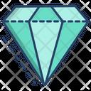 3 D Diamond Diamond 3 D Shapes Icon