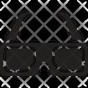 Glasses Movie Cinema Icon