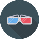 D Vr Glasses Icon