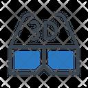Dglasses Goggles View Icon