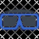 3 D Glasses Movie Icon