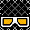 D Glasses Icon