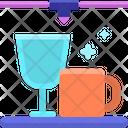 3 D Glassware Icon