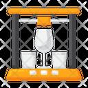 D Glassware Gassware Cup Icon