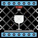 3 D Glassware Gassware Cup Icon