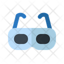 3 D Goggles Entertainment Movie Icon