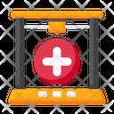 D Medical Model Hospital Sign Design D Design Icon