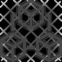 3 D Modeling 3 D Cube 3 D Design Icon