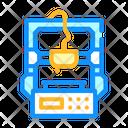 3 D Printer Entry Level Icon