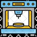 3 D Printer Printer Printing Icon