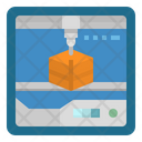D Printing Shop Icon