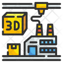 3 D Printing Smart Industry Icon