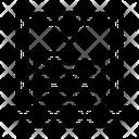 3 D Printing Layers Printing Icon