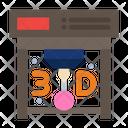 3 D Printing Icon