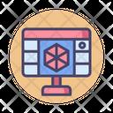 3 D Programming Icon