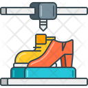 3 D Shoes Icon
