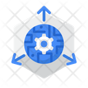 3 D Technology Icon