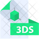 3 Ds File 3 Ds File Format Icon