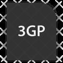 3 Gp File File Extension Icon