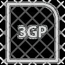 3 Gp File Extension File Icon