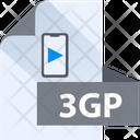 3 Gp File 3 Gp File Format Icon