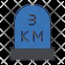 3 Km Icon