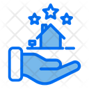 3 Star Home 3 Star House Archivement Icon