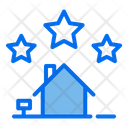 3 Star House 3 Star Home Archivement Icon