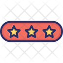 3 Star Rating Icon