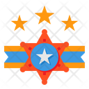 3 Start Badge Icon
