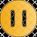 Media Pause Control Icon
