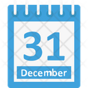 31 December Icon