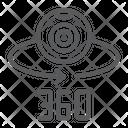 360 camera Icon