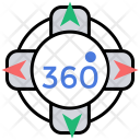 360 Degree Icon