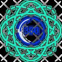 360 Degree Degree Angel Icon