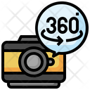 360 Degree Degrees Option Icon