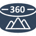 360 degree image Icon