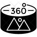 360 Degree Image Icon