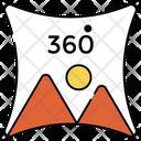 360 Degree Photo Icon