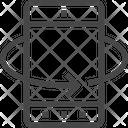 360 Rotate Rotate Degree Icon