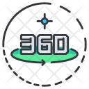 360 vision Icon
