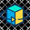 D Cube Cube D Box Icon
