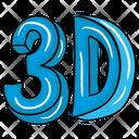3 D 3 D Cad 3 D Animation Icon