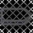 3 D Arrow Right Arrowhead Direction Arrow Icon