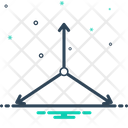 3 D Axis Arrow Icon