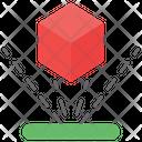 3 D Blocks Cube Shape Icon