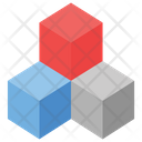 3 D Blocks Icon