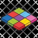 3 D Blocks Icon