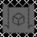 D Blueprint Prototype Icon