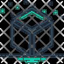 3 D Cube Box Icon